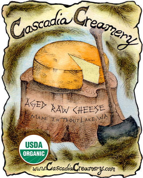Raw Organic Cheese Logo